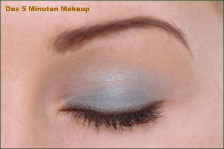 Das 5 minuten Make-up
